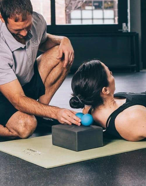 RAD Roller suboccipitalis massage