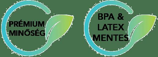 BPA és latex mentes